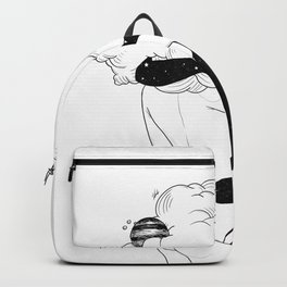 Clouds of love. Backpack