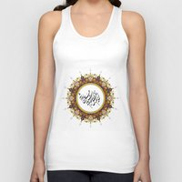 calligraphy Tank Tops featuring Persian Calligraphy by BeyondPersia