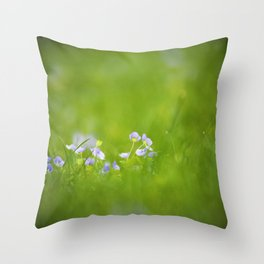spring. Throw Pillow