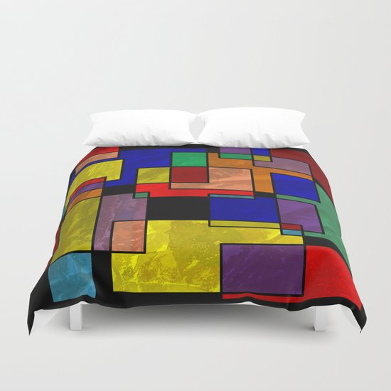Abstract #316 Duvet Cover