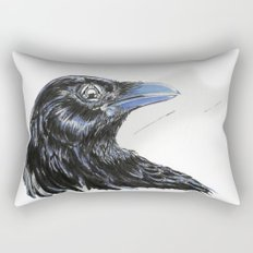 RHX Raven Logo Rectangular Pillow