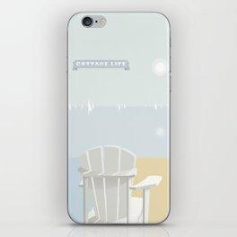 Cottage Life (1) iPhone Skin