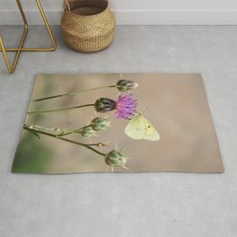 Clouded Yellow Butterfly Rug