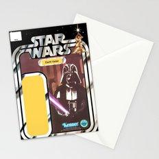 Darth Vader Vintage Action Figure Card Stationery Cards
