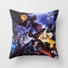 good and bad Throw Pillow