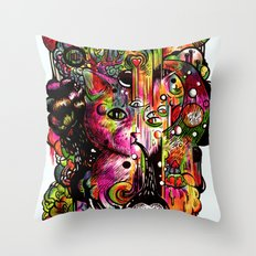 Amygdala Malfunction Throw Pillow