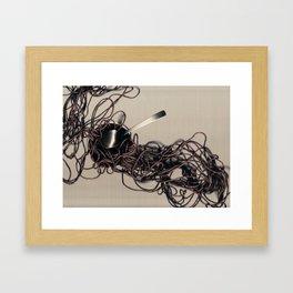 Solid Framed Art Print
