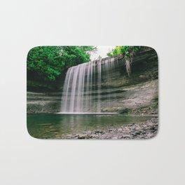 Bridal Veil Falls, Manitoulin Island, Ontario Canada Bath Mat