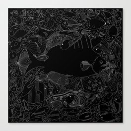 The Invisible Canvas Print