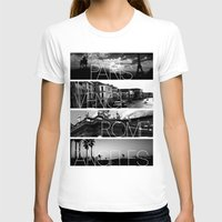 cityscape T-shirts featuring CITYSCAPE by Grafikki Shop