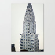 Chrysler Building from Roosevelt Island Canvas Print