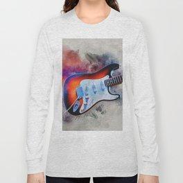 Electric Gitar Long Sleeve T-shirt