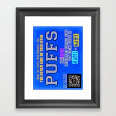 Pants Demo Framed Art Print