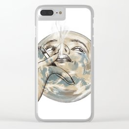 The Earth Clear iPhone Case