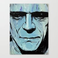 frankenstein Canvas Prints featuring Frankenstein by Giuseppe Cristiano