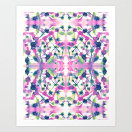 Cosmic Connections Multi Art Print