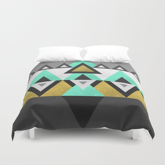 Triangle Abstract Duvet Cover