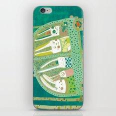 Rabbit journey iPhone & iPod Skin