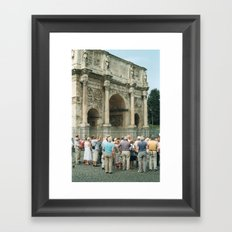 In Rome 2 Framed Art Print