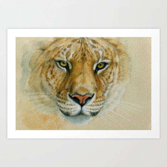 Liger CC007 Art Print