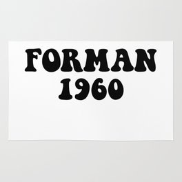 Eric Forman 1960 Rug
