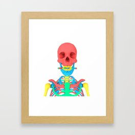 Playskool Skeleton Framed Art Print