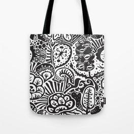 Shadow Garden (Wayang) Tote Bag