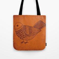 Retro Pigeon Tote Bag