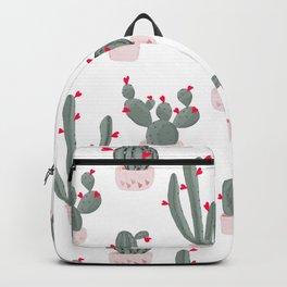 Love in the Desert Cacti Pattern Backpack