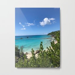 Gorgeous Tropical Beach Metal Print