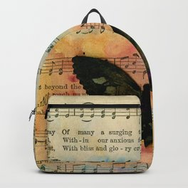 Butterfly Collage 7G by Kathy Morton Stanion Backpack