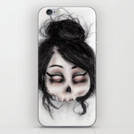 The inability to perceive with eyes notebook II iPhone Skin