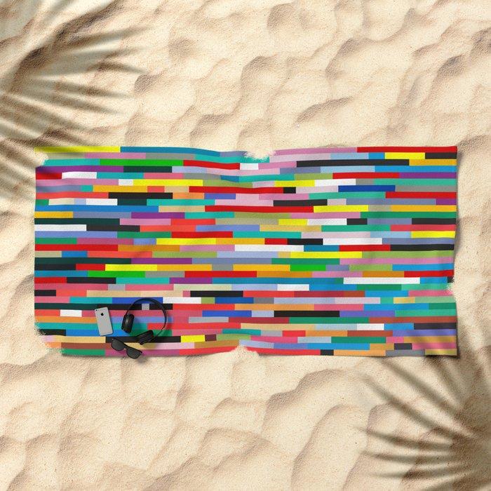 JOHANN SEBASTIAN BACH Beach Towel