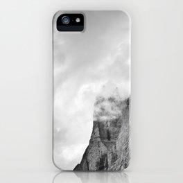 Eagle. Misty Mountains. Grindelwald Valley. Alps. Switzerland iPhone Case