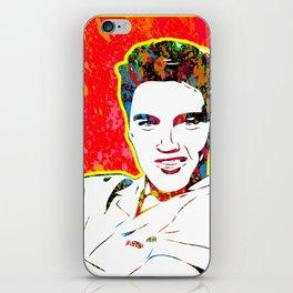 Elvis | Splatter Series | Presley | Pop Art iPhone Skin