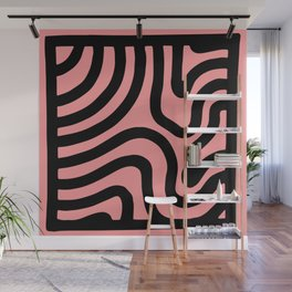 Squiggle Square Wall Mural