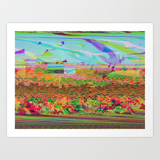 Lost In Flight Art Print
