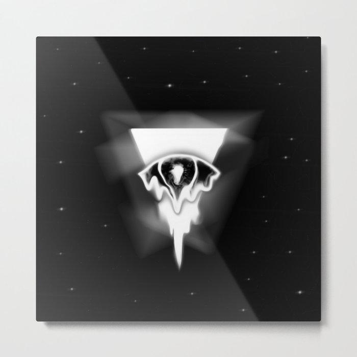 Melting eye Metal Print