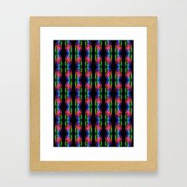 Recycled Smoke Pattern  (8) Framed Art Print