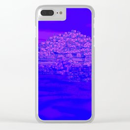 Dreaming Mediterranean Sunset Clear iPhone Case