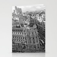 madrid Stationery Cards featuring Madrid by Cristina Serrano