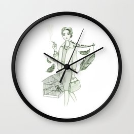 The Birds - Movies & Outfits Wall Clock