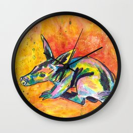 Earth Pig (Aardvark) Wall Clock
