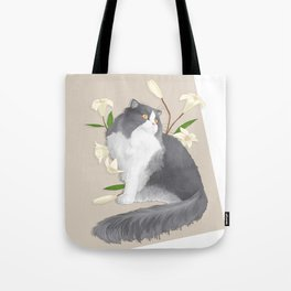 Cat Som Tote Bag