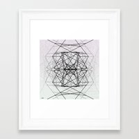 code Framed Art Prints featuring Code by Dood_L
