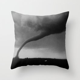 1968 Tracy Minnesota Tornado Throw Pillow