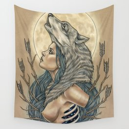 Howl Wall Tapestry