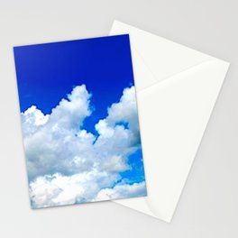 Clouds in a Clear Blue Sky Stationery Cards