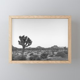 JOSHUA TREE / California Desert Framed Mini Art Print