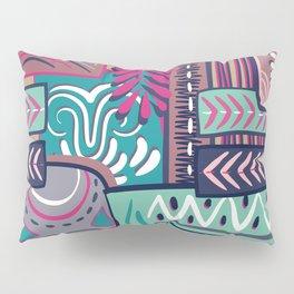 African Boho Geometric Pattern Pillow Sham